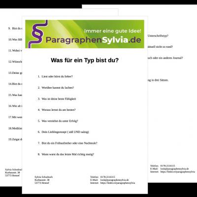 Fragebogen_Stapel